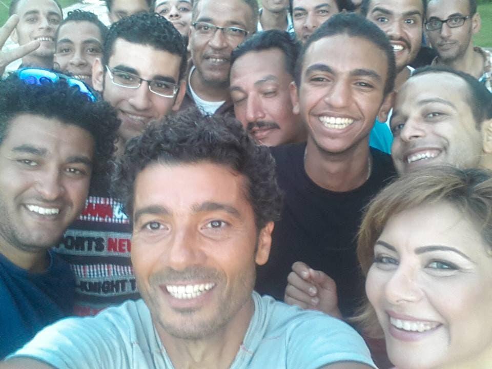 خالد النبوي في فيلم خطة بديلة