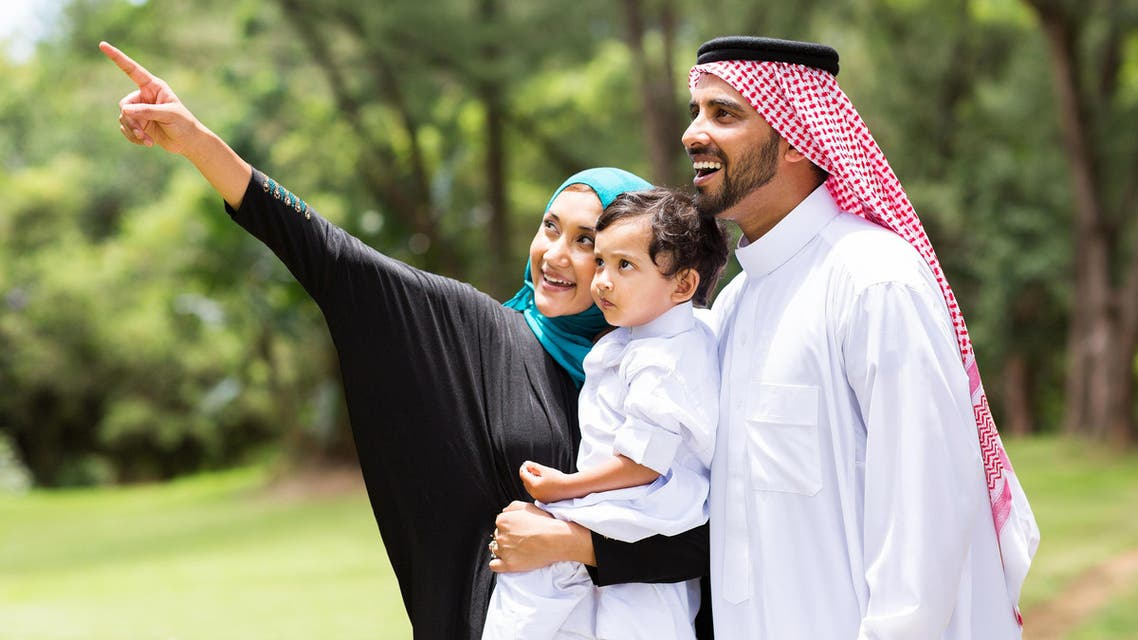 saudi couple shutterstock