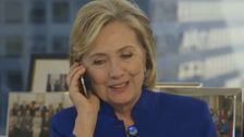 Video of 'House of Cards' actor prank calling Hillary Clinton goes viral