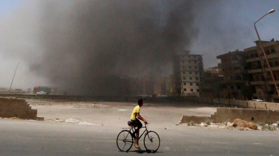 Raqqa Syria Reuters