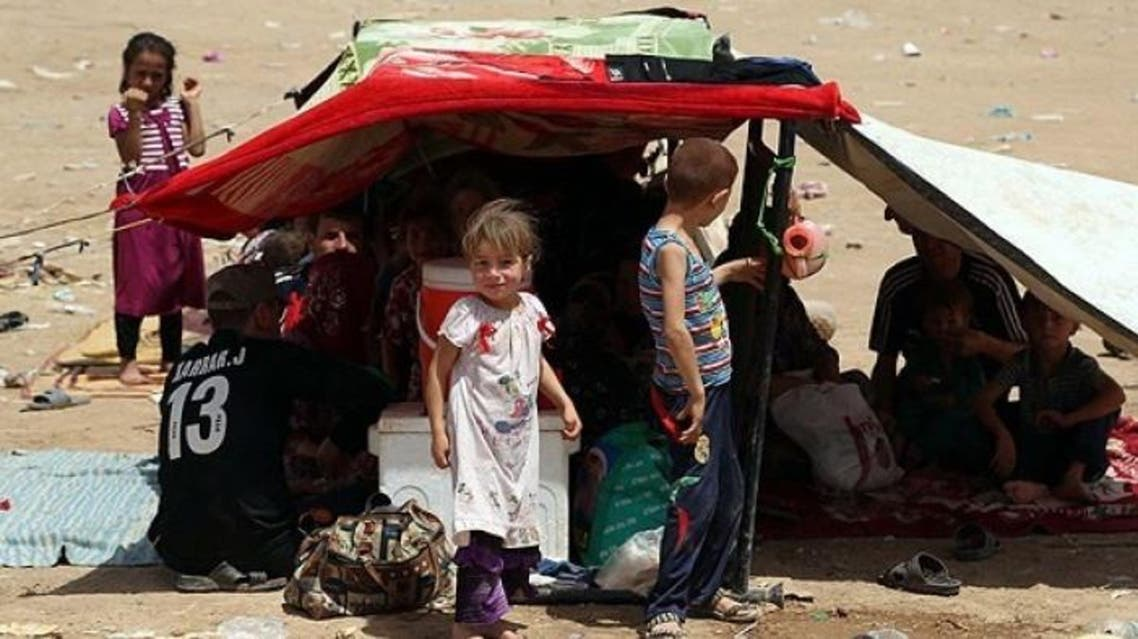 نازحين عراقيين