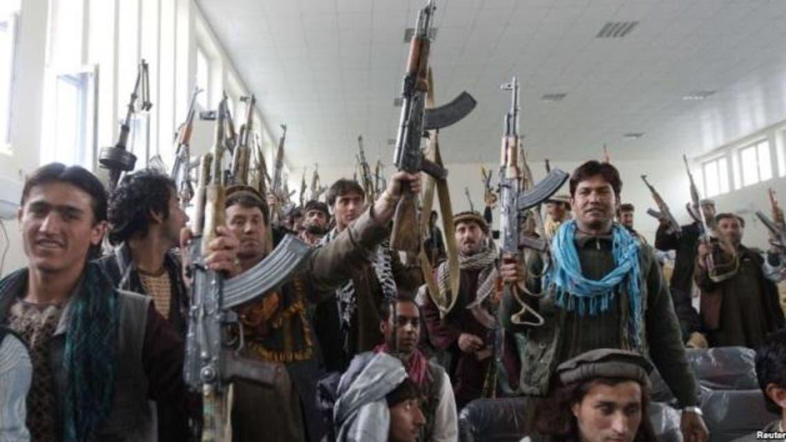 متظاهرین ضد طالبان