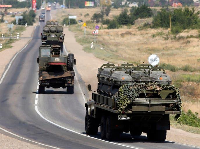 تصاعد التوتر مع تدمير آليات عسكرية روسية في أوكرانيا