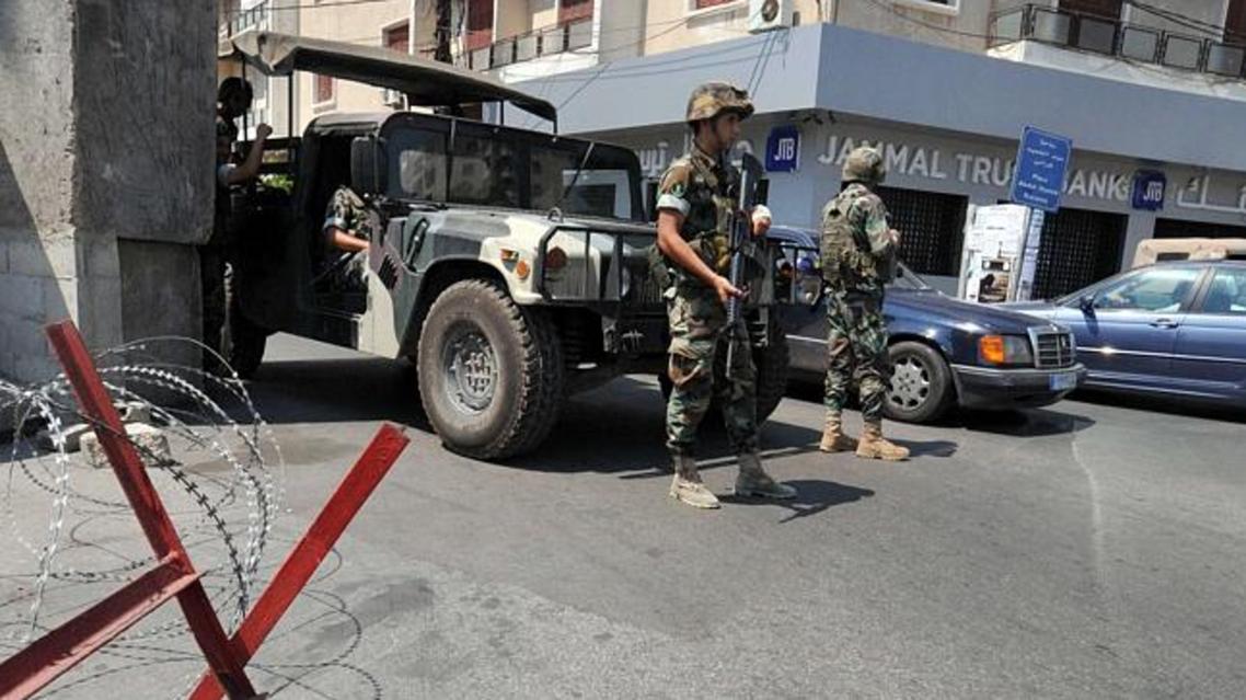 lebanon police AFP