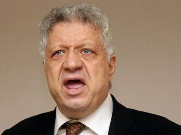 منع ظهور مرتضى منصور على فضائيات مصر بسبب مذيعة