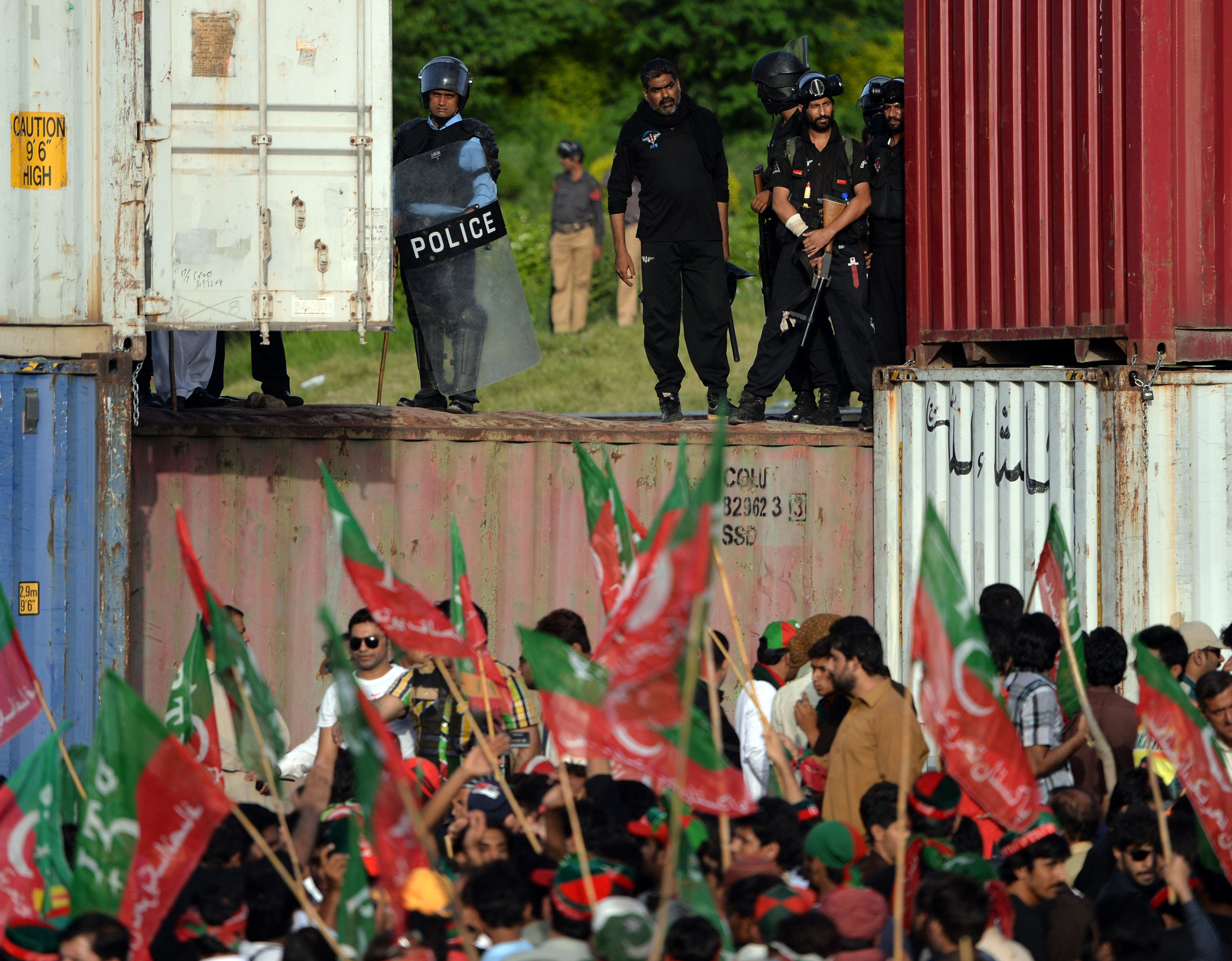 Pakistan erupts in protest