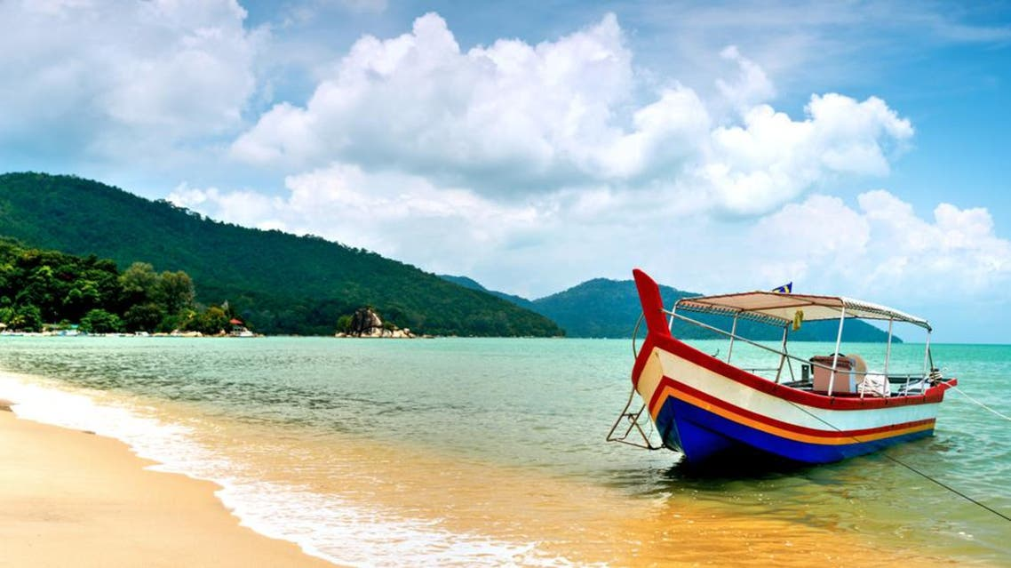 Beach Scene in Penang, Malaysia.(Photo file: Shutterstock)