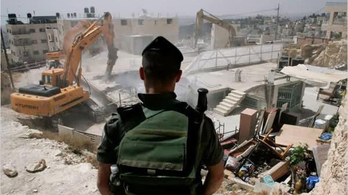 الاحتلال إسرائيل يهدم تهدم منزل فلسطيني في فلسطين