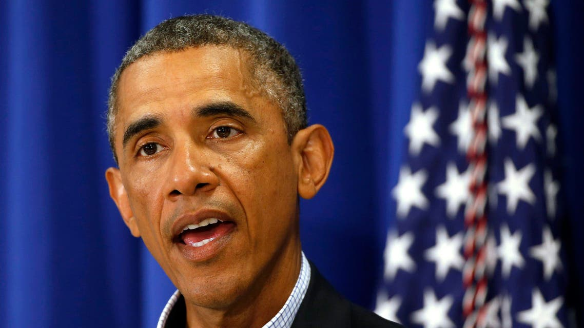 U.S. President Barack Obama speaks about Iraq and also the shooting in Ferguson, Missouri from his vacation on Martha's Vineyard, Massachusetts August 14, 2014. (Reuters)