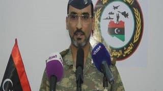 ليبيا: الجيش يتبنى قصف الميليشيات جوا بطرابلس