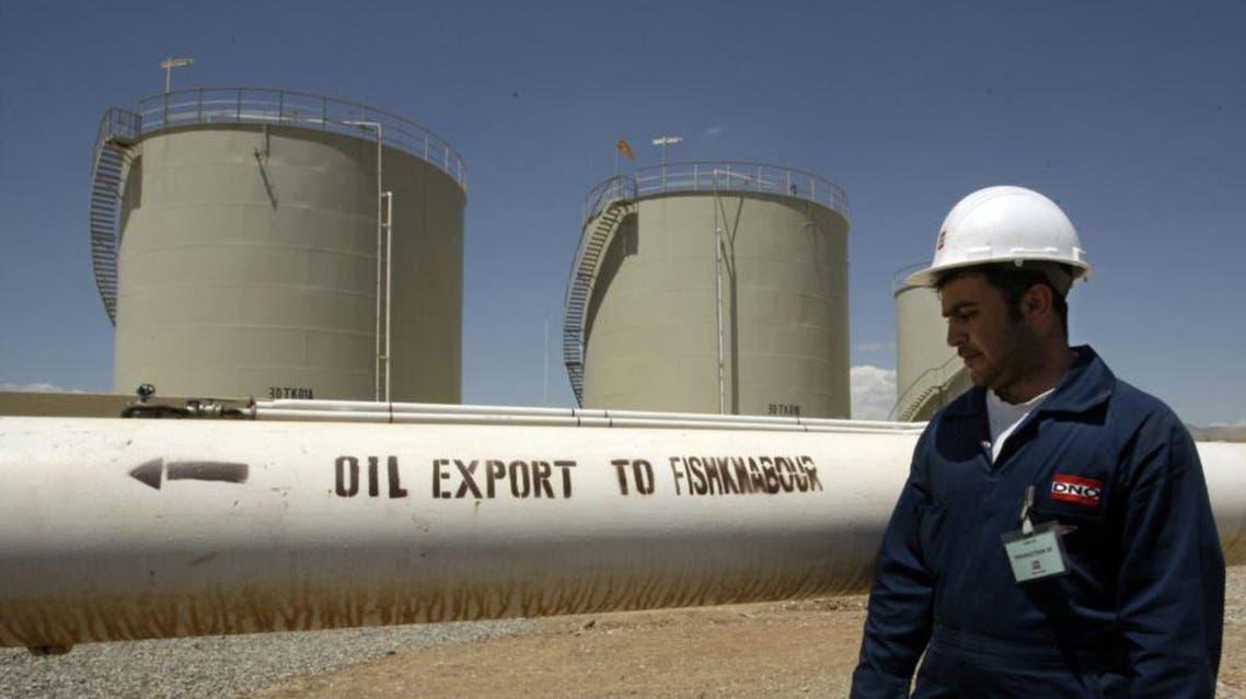 kurdish oil afp