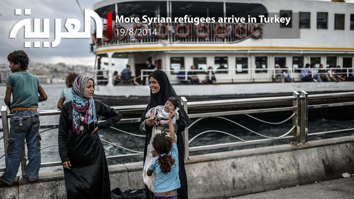 More Syrian refugees arrive in Turkey