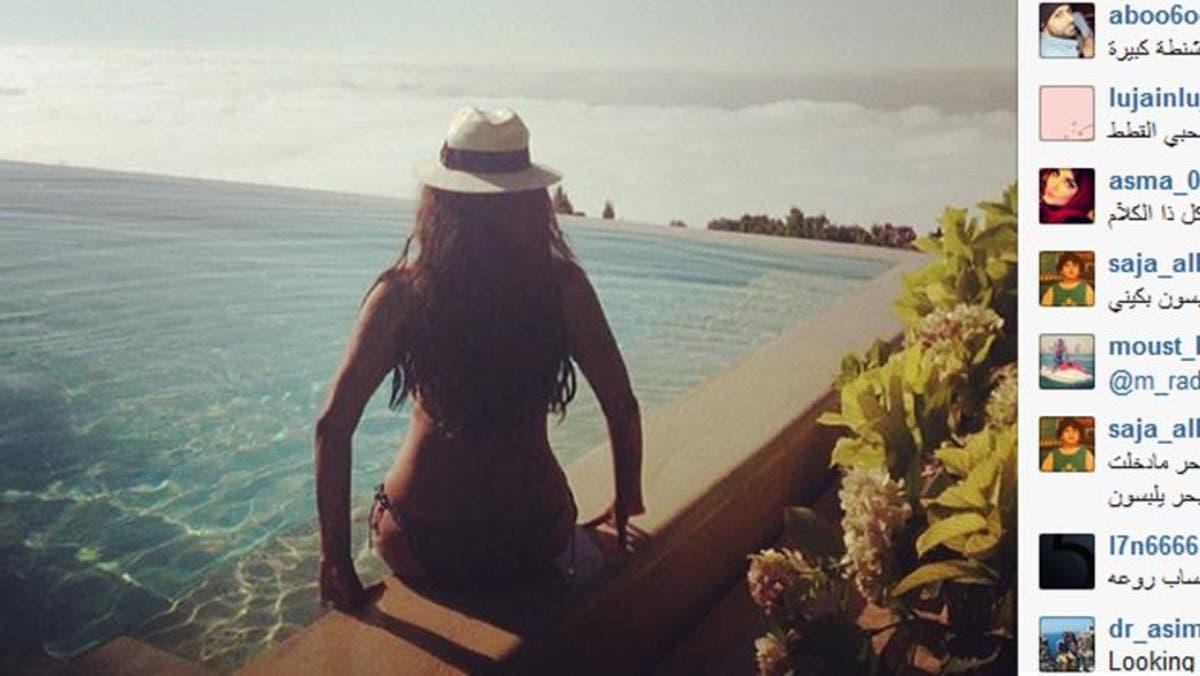 Bikini haifa wehbe Haifa Wehbe