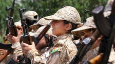 داعش کے مقابلے کے لیے کرد فوجی خواتین بھی تیار