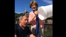 George W. Bush: #IceBucketChallenge not 'presidential'