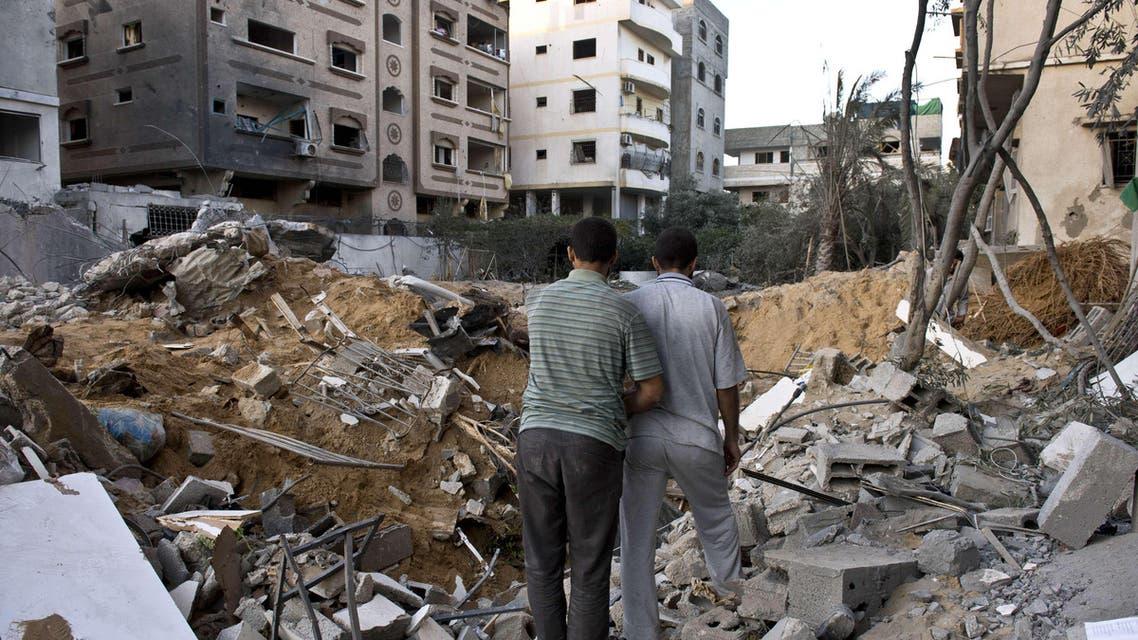 Damage and destruction in Gaza