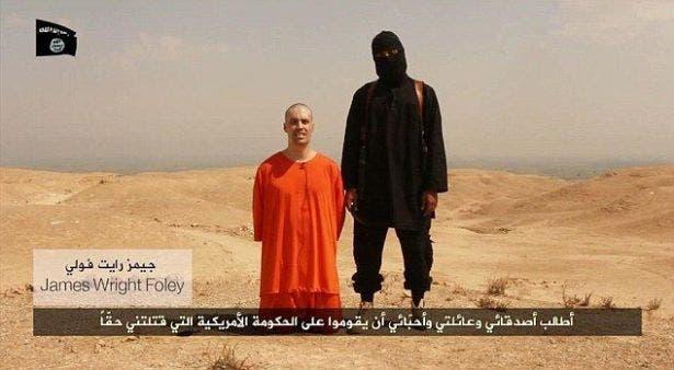 داعش يذبح صحافي أميركي مخطوفا في سوريا