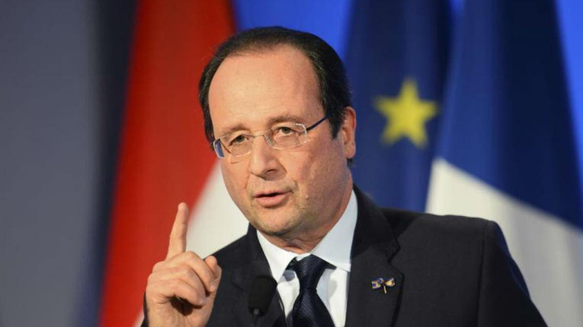 French President Francois Hollande. (File photo: Reuters)