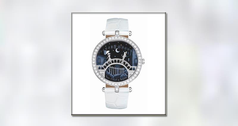 ساعة Pont des Amoureux من Van Cleef&Arpels