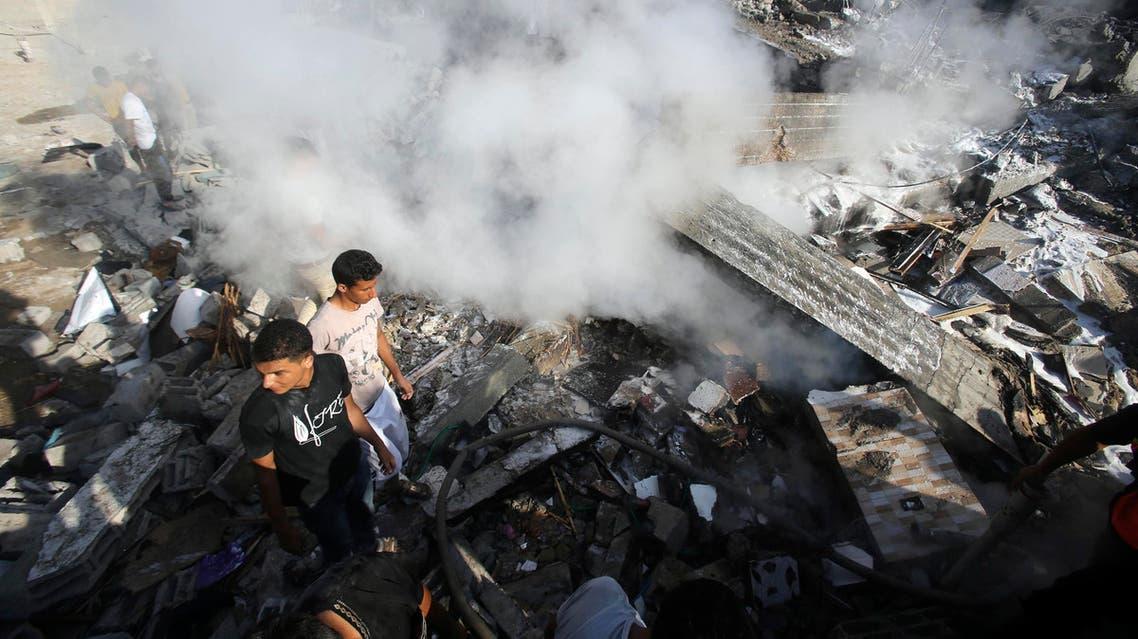 قصف إسرائيل على غزة