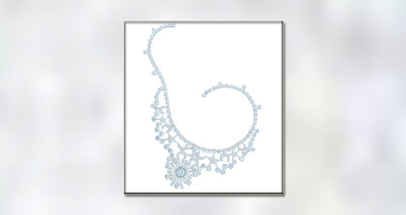 عقد Jean Schlumberger Stars and Moons من Tiffany&Co