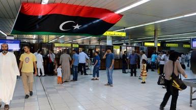 تونس ومصر توقفان حركة الطيران مع ليبيا