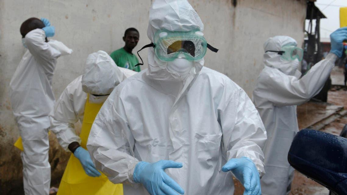 عمّال ليبيريا ايبولا إيبولا ebola