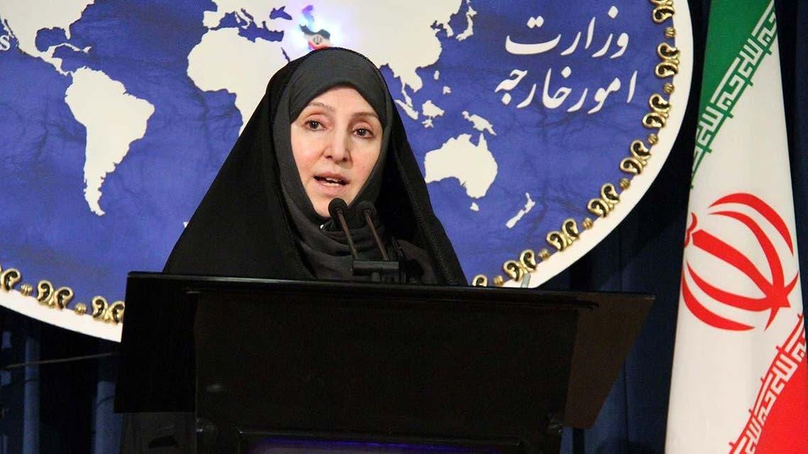 دقة جيدة المتحدثة باسم الخارجية الايرانية مرضية أفخم