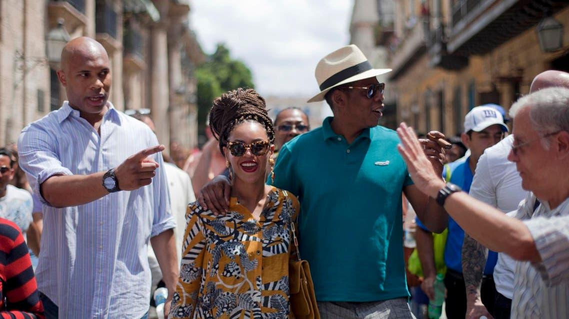 بيونسي و جاي زي في كوبا