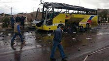 At least 27 dead in bus crash in Egypt's Sinai