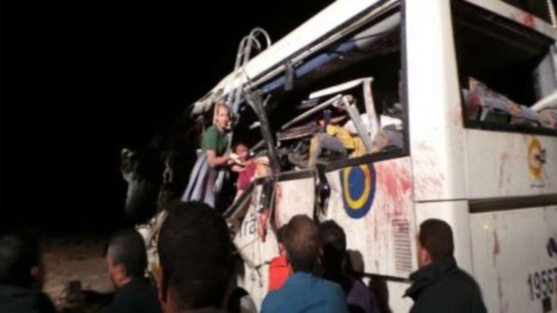 سيناء حادث تصادم 3