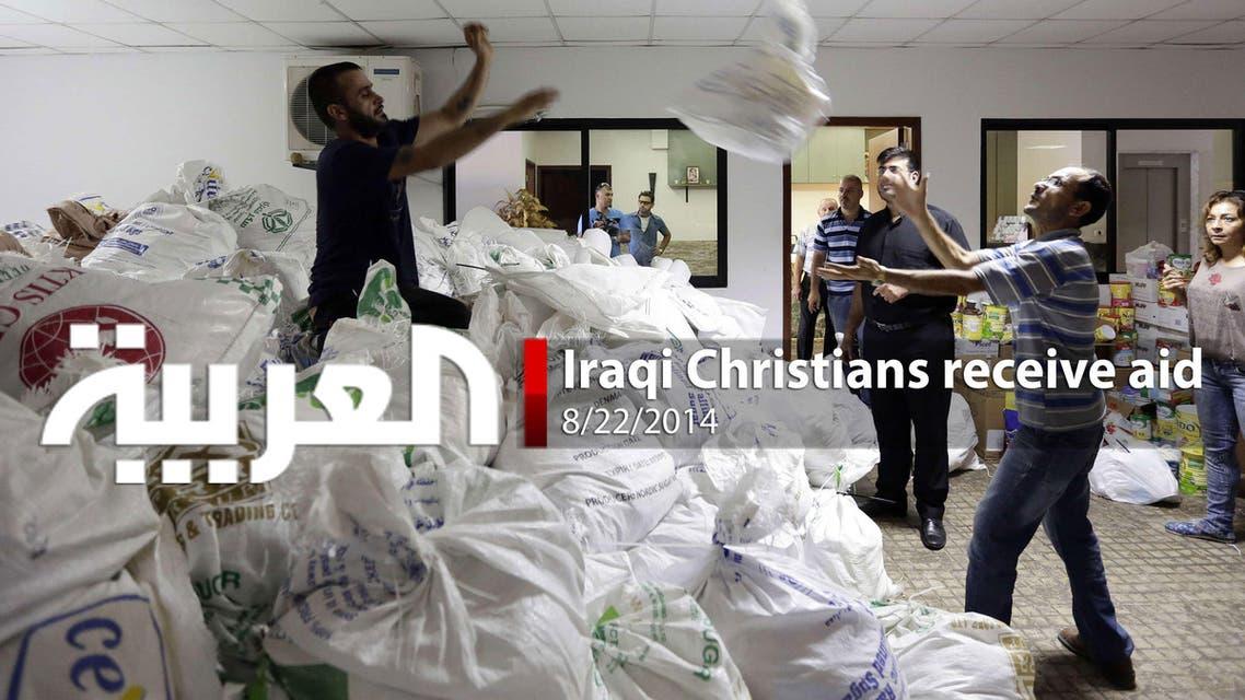 Iraqi Christians receive aid