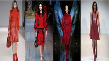 Red, Tartan & Fur: Key fashion trends this Fall/ Winter