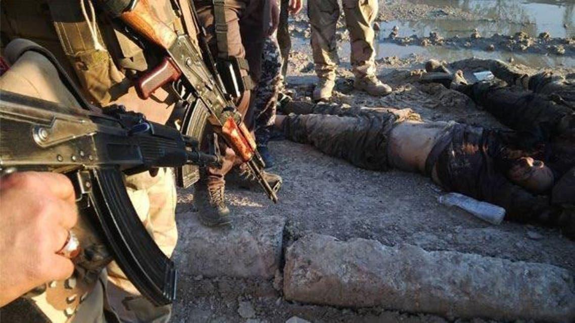 قتلى مسلحي داعش في ديالى