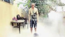 In ice bucket twist, Palestinian douses himself with sand
