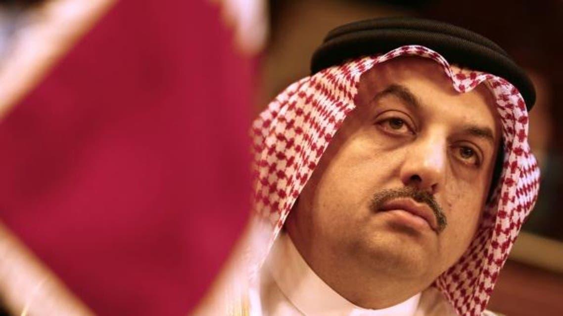 Qatar's Foreign Minister Khalid bin Mohammed Al Attiyah reuters
