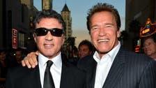 Schwarzenegger, Stallone express support for Israel