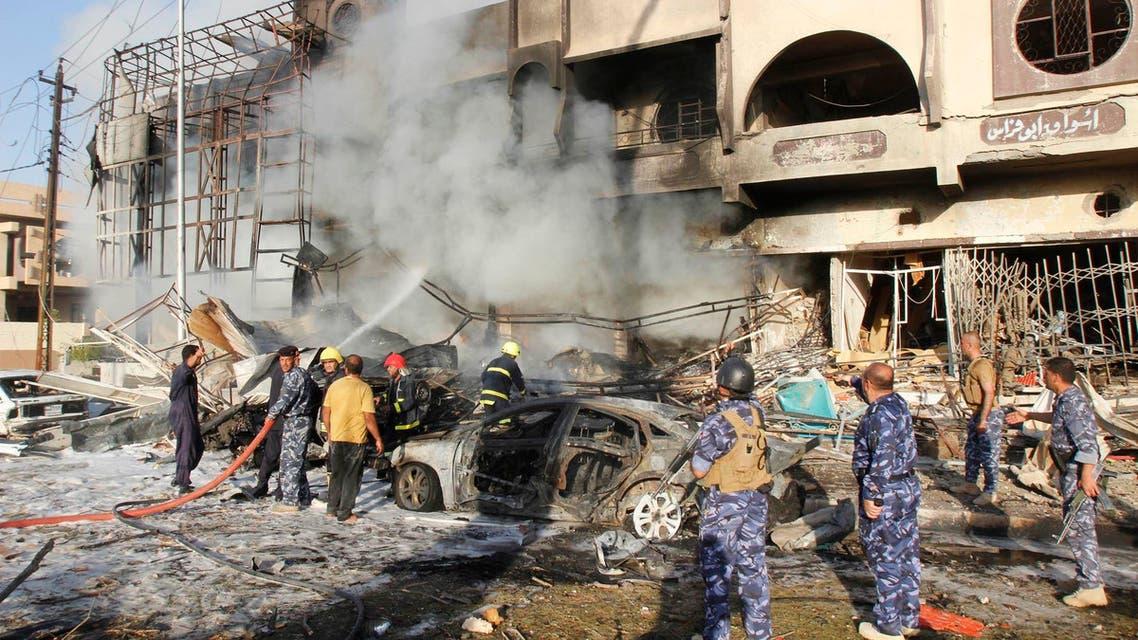 Car bombs kill 21