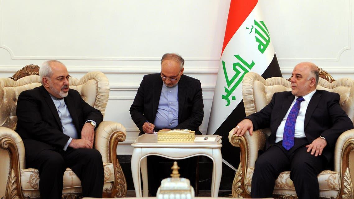 Iran Iraq Zarif Abadi AFP