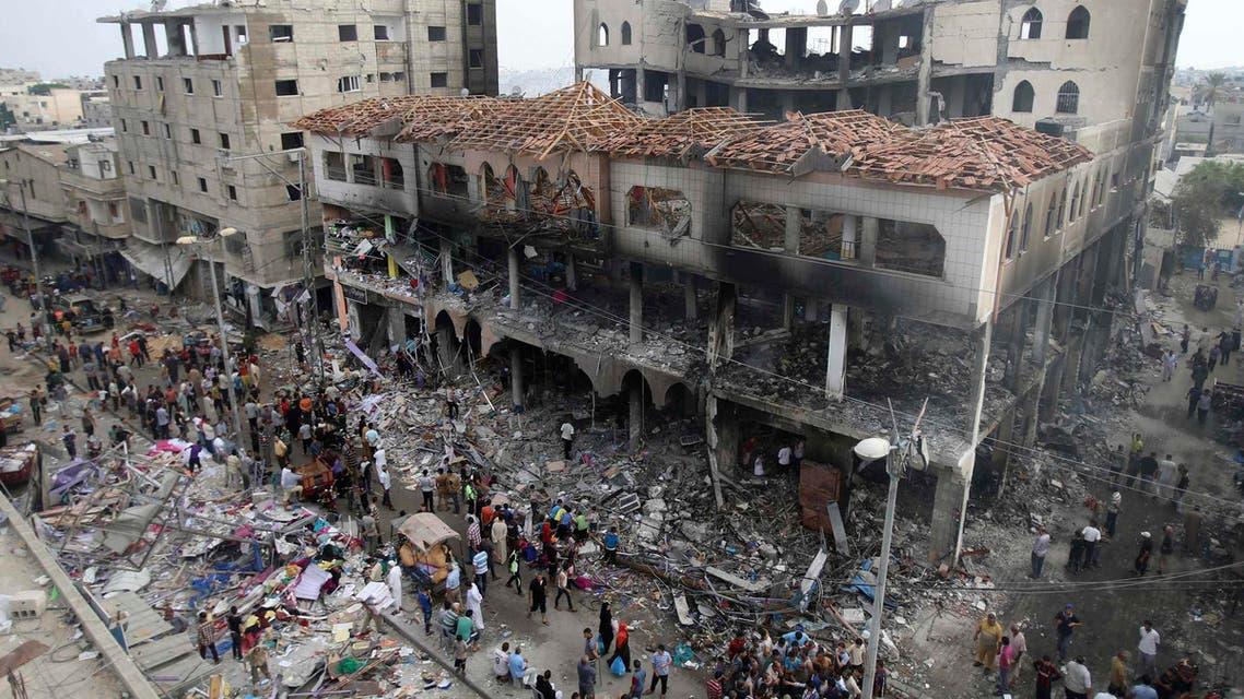 Rafah Gaza Reuters