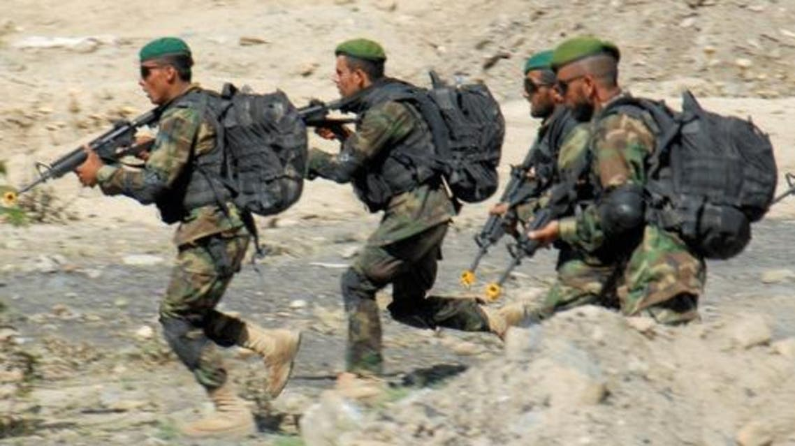 afghani forces
