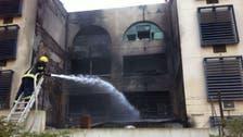 السيطرة على حريق بسكن التدريب المهني بالباحة