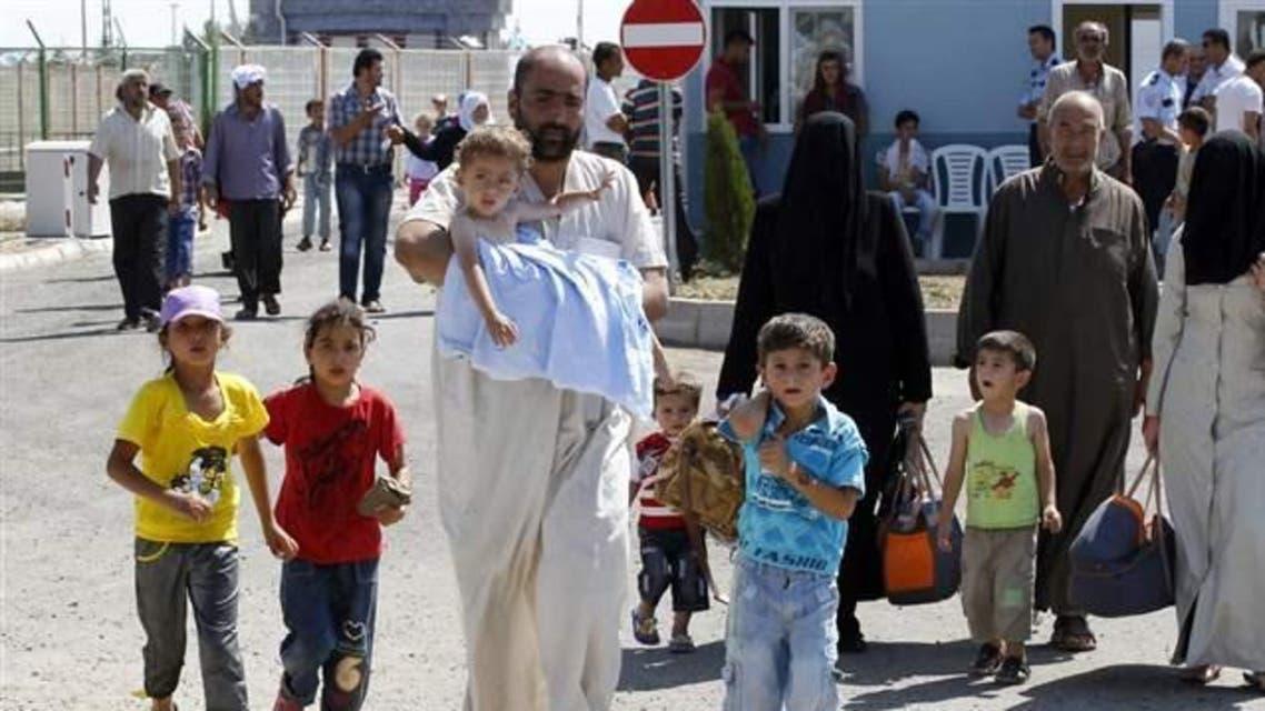 نازحون سوريون