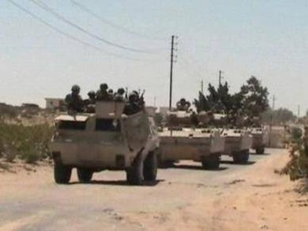 مصر.. الجيش يقتل 5 تكفيريين بشمال سيناء