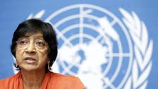 U.N. rights boss condemns 'widespread' ISIS crimes