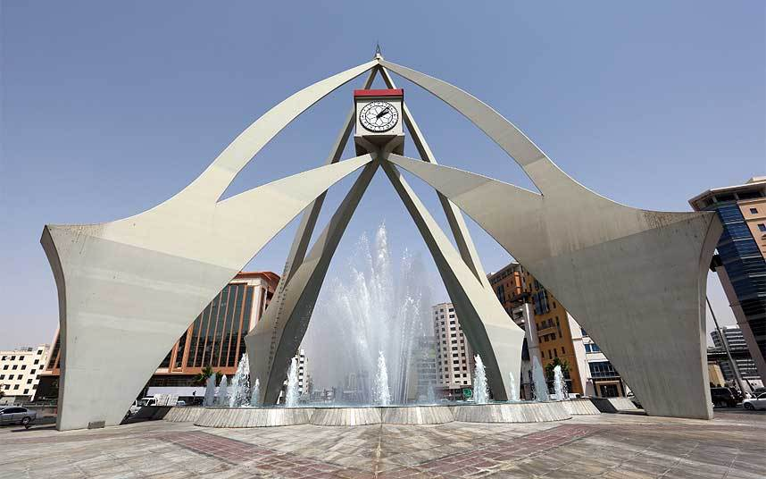 Deira clock tower Dubai The Telegraph