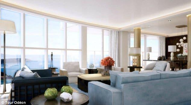 شقة فاخرة بقيمة 400 مليون دولار