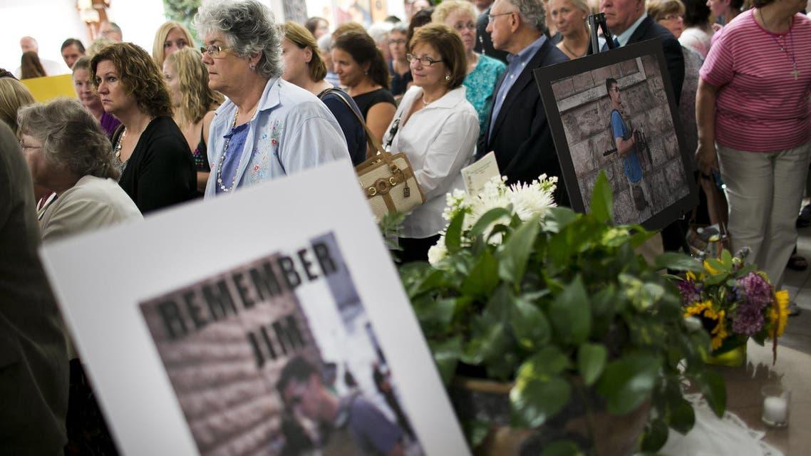 James Foley's memorial mass