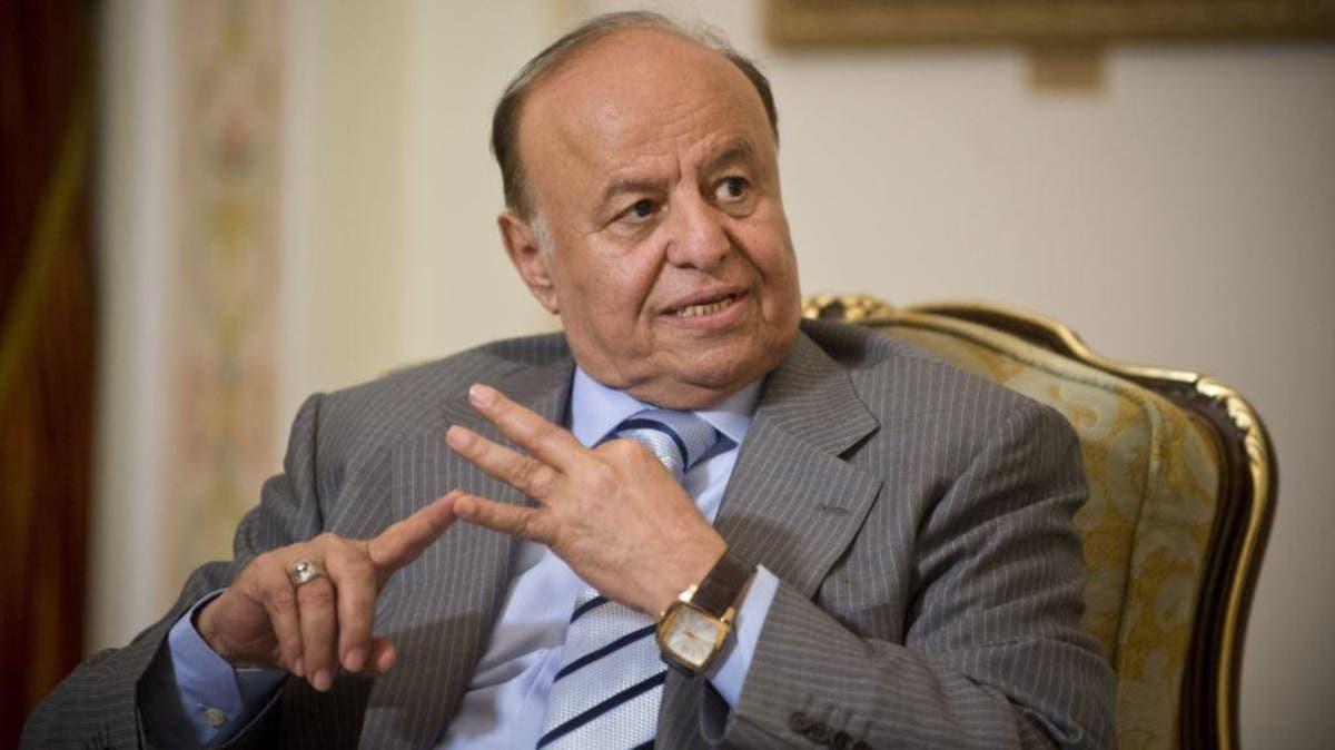 الرئيس اليمني ينتقد تدخل إيران الفاضح في بلاده