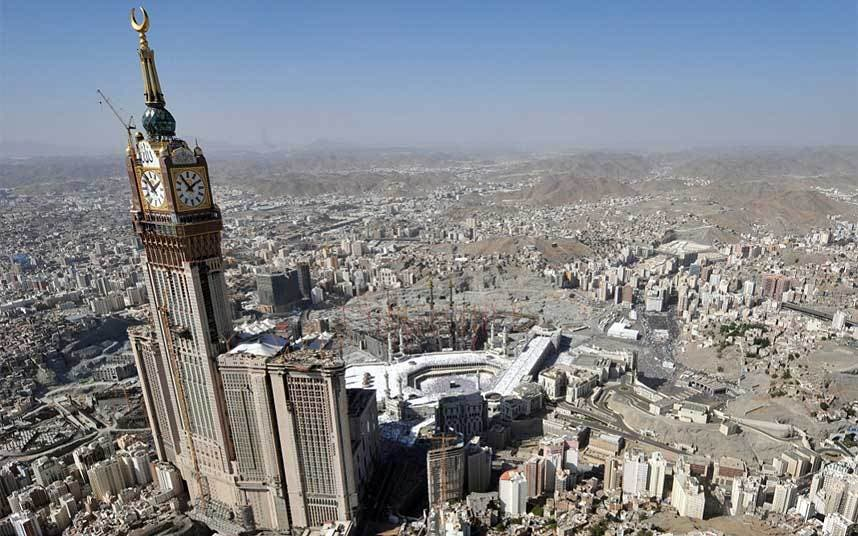 Makkah Royal Hotel clock tower The Telegraph